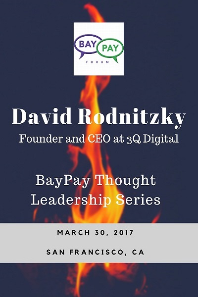 Hidden Secrets of Silicon Valley Startups Hyper Growth with David Rodnitzky, Founder and CEO at 3Q Digital (2017)