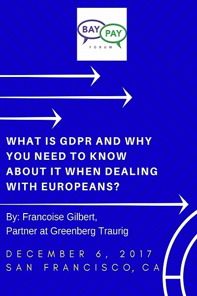What is GDPR and why you need to know about it when dealing with Europeans? (2017)