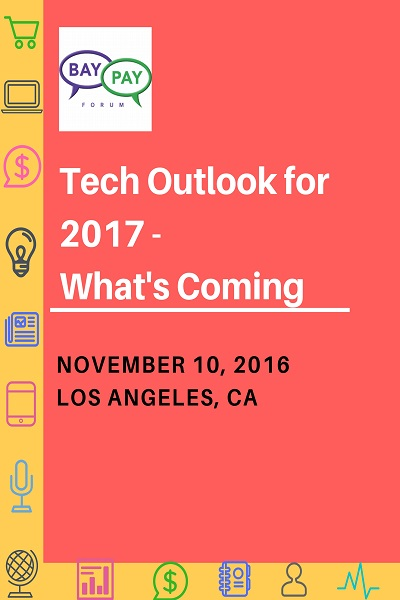 Tech Outlook for 2017 - What's Coming  (2016)