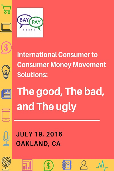 International Consumer to Consumer Money Movement Solutions – The good, The bad, and The ugly (2016)