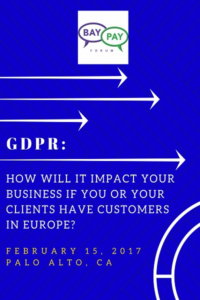 GDPR - How will it impact your business if you or your clients have customers in Europe?