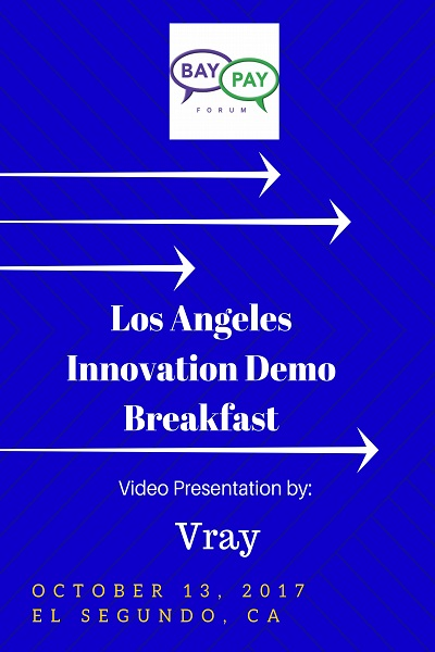Los Angeles Innovation Demo Breakfast - Video Presentation by Vray (2017)