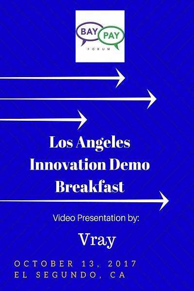 Los Angeles Innovation Demo Breakfast - Video Presentation by Vray (2017)