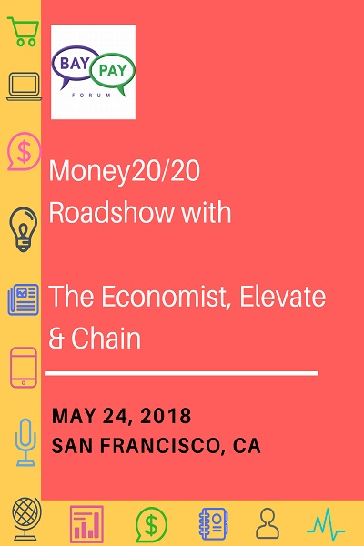Money20/20 Roadshow with The Economist, Elevate & Chain (2018)