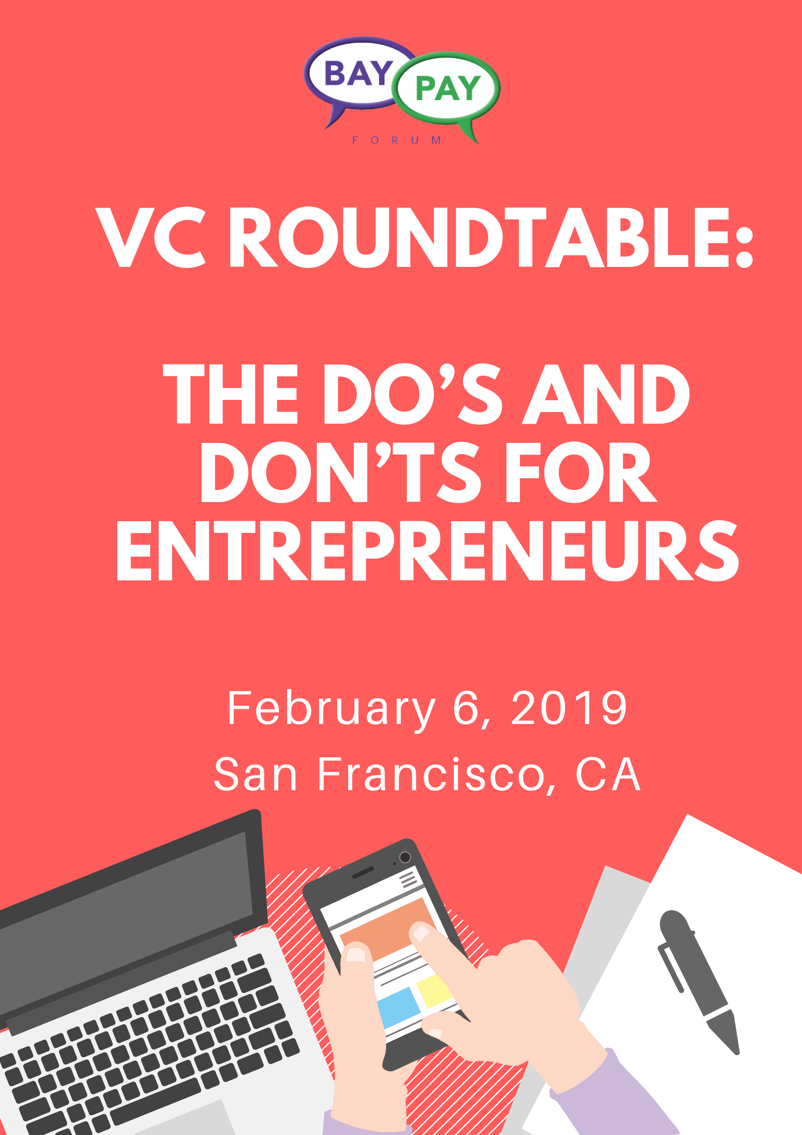 VC Roundtable: The Do's and Don'ts for Entrepreneurs (2019)