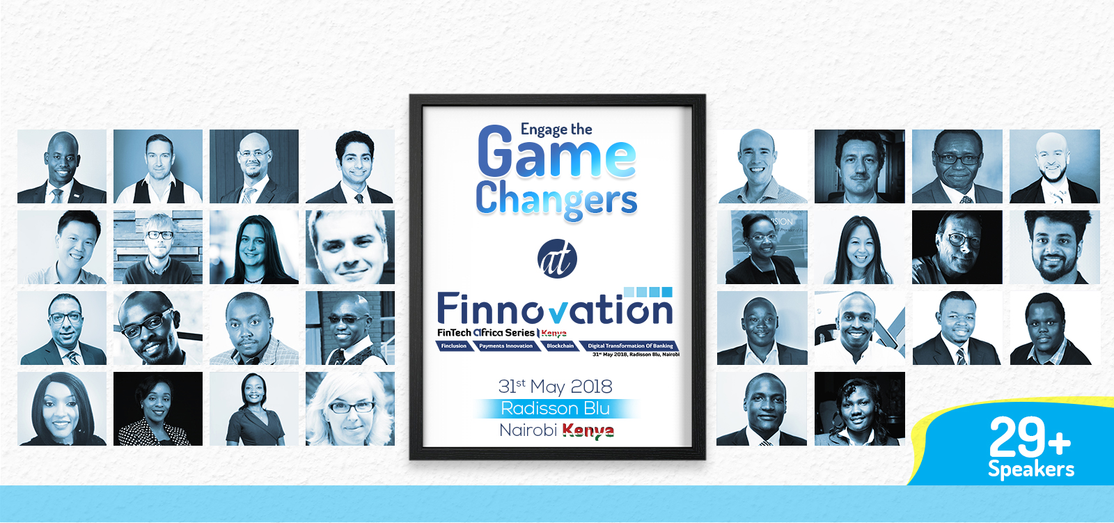 Finnovation Kenya Fintech Africa speakers