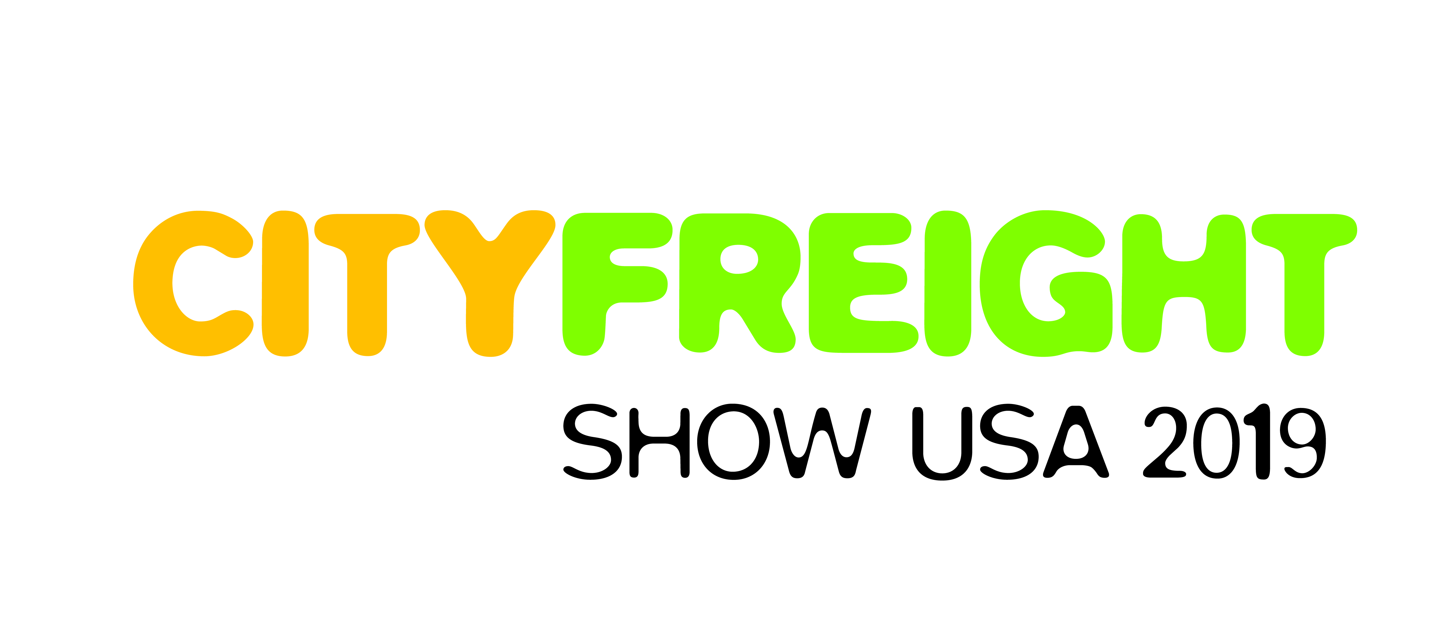 City Freight Show USA 2019 NEW Logo Yellow Green