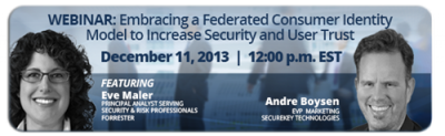 SECUREKEY TECHNOLOGIES TO PRESENT WEBINAR ON FEDERATED CONSUMER IDENTITY FEATURING INDEPENDENT RESEARCH FIRM