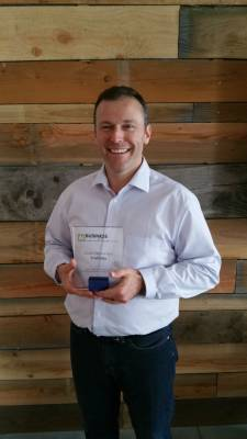 "Traxpay's Chief Marketing Officer David Desharnais named ""2015 CMO of the Year for B2B Innovation and Global Markets"""