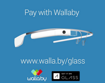 Wallaby Introduces First Financial App for Google Glass with Launch of Pay With Wallaby
