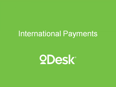 ODesk Presentation from BayPay International Treasury & Payments Best Practice Event - Sept 12, 2013