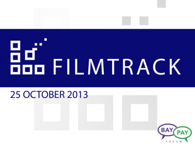 Filmtrack Presentation from BayPay event on Entertainment, October 25, 2013 in Los Angeles