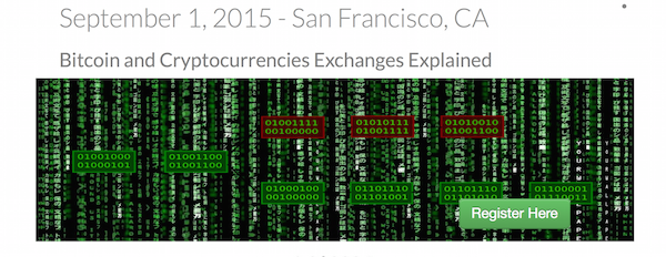Bitcoin, Blockchain, and Exchanges - BayPay Event of September 1, 2015 in San Francisco, CA